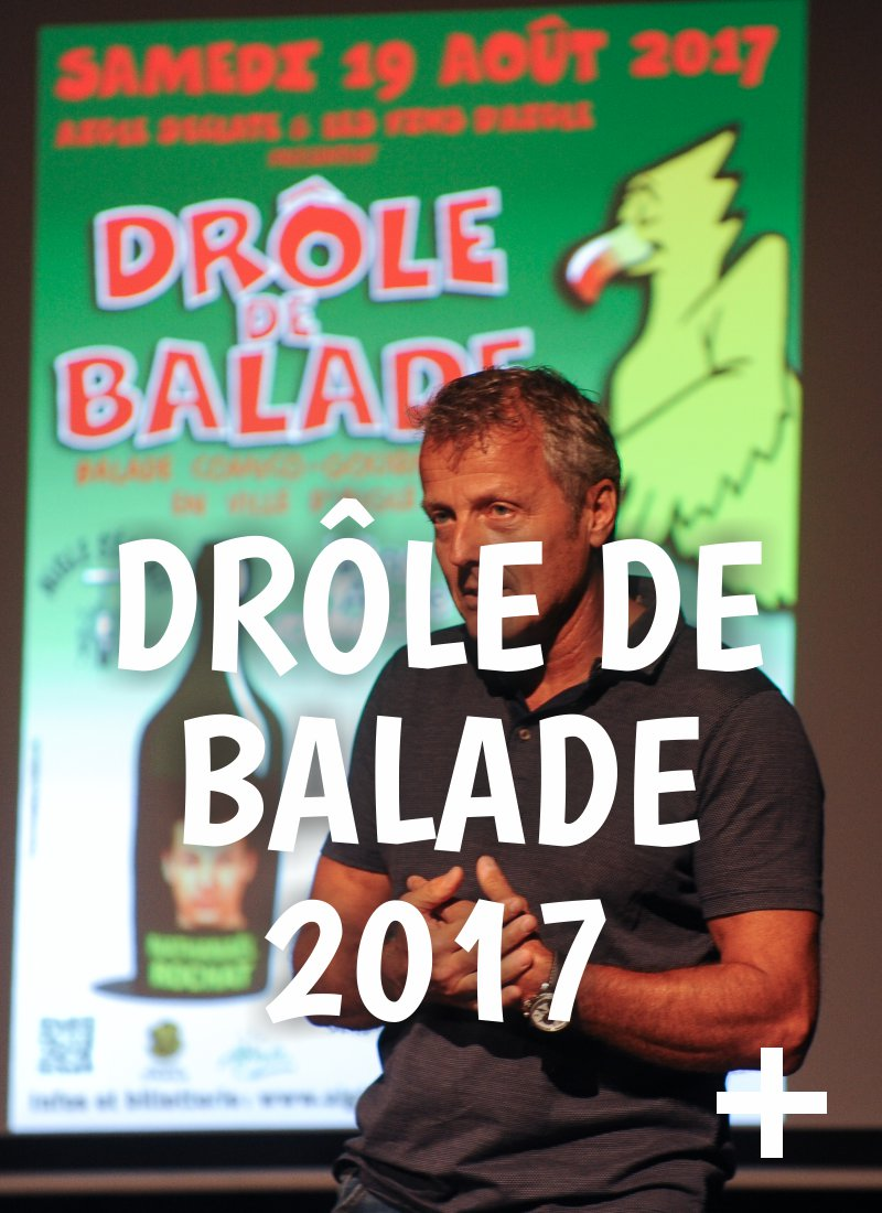 Album photo, drôle de balade 2017